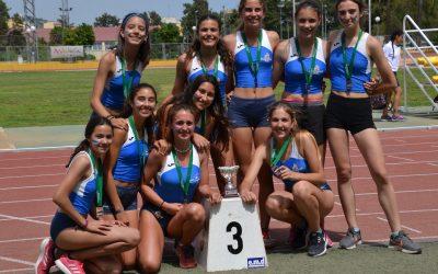 Pódium para las chicas en el Campeonato Andalucía de clubes sub16