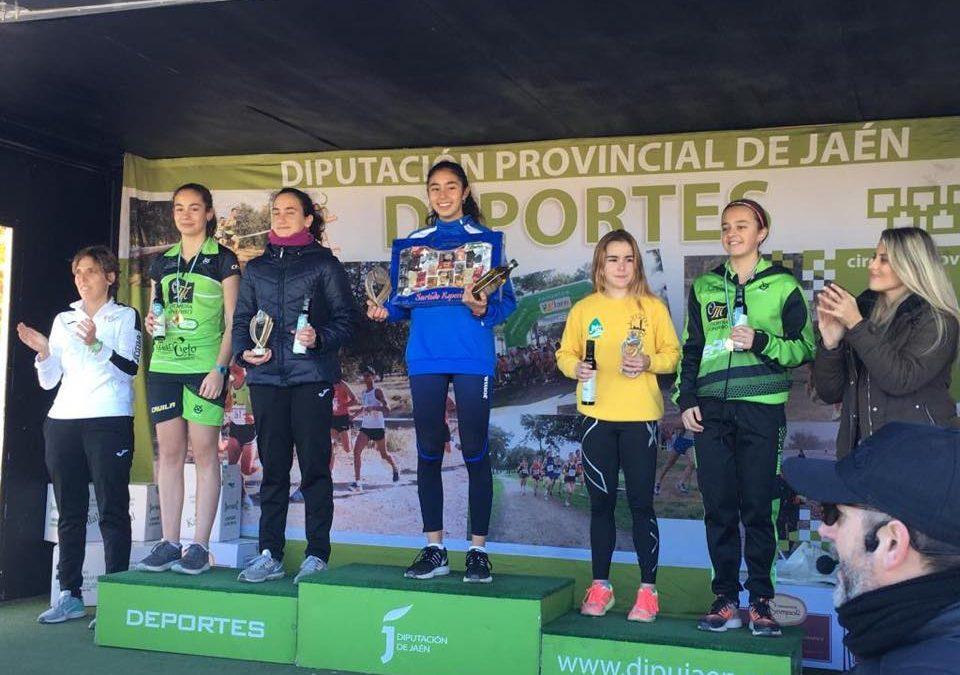 Lucia Fernandez gana los CROSS de Arjona y CROSS de la Garza (Linares), provincia de Jaén