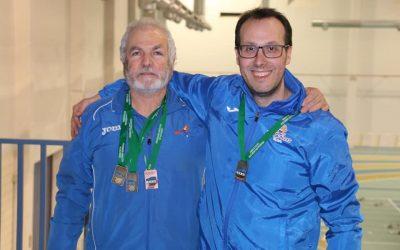 Cuatro medallas en el campeonato andaluz master de PC