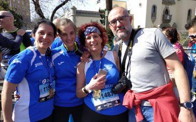Numerosa presencia del Club Trotacalles en la Zurich Maratón de Sevilla y en la C.P. Trinitarios de Córdoba