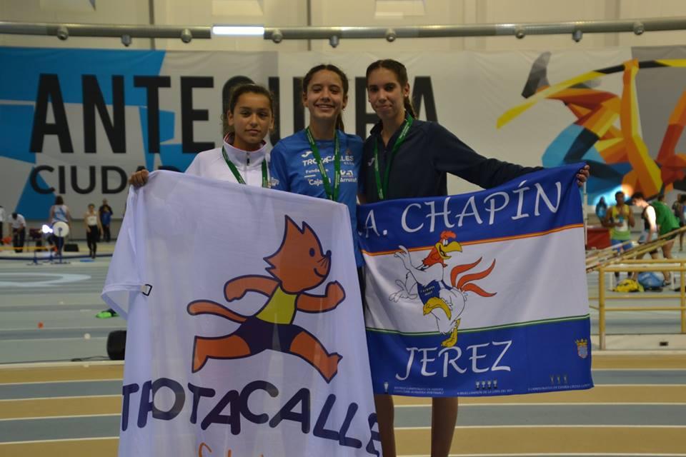 Natalia Álvarez medalla de oro en el Cto. Sub16 de Andalucía y exitosa participación en el Cto. de España sub18