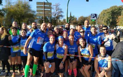 Presentes en la Media Maratón de Córdoba con 60 participantes y 50 voluntarios