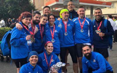 Club Trotacalles protagonista en la Media Maratón de Sevilla con 15 participantes