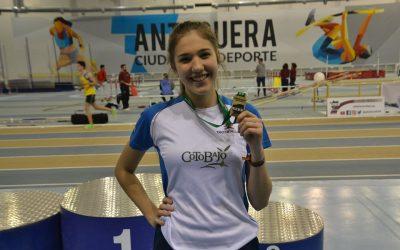 Tres medallas y 9 participantes en el campeonato andaluz sub 23 de pista cubierta
